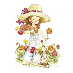 Garden Illustration Kids Sarah Kay Ideas For 2019 Sarah Key, Holly Hobbie, Garden Illustration, Illustration Kids, Anne Of Green Gables, Freelance Illustrator, Digi Stamps, Illustrations, Cute Art