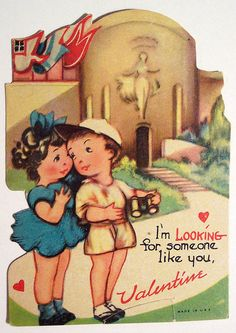 Vintage Valentine My Funny Valentine, Happy Valentines Day Pictures, Vintage Valentine Cards, Little Valentine, Vintage Greeting Cards, Valentine Crafts, Valentine Day Cards, Vintage Postcards, Vintage Images