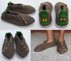 Joe's Toes - Gallery - Show Joe! Make your own woolly felt slippers