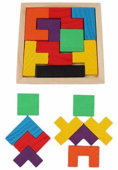 1Pcs Kids Wooden Puzzle Toy Tetris Game Educational Toys Children Mental Development Jigsaw Board Baby Boys Girls Tangram Gift  http://playertronics.com/products/1pcs-kids-wooden-puzzle-toy-tetris-game-educational-toys-children-mental-development-jigsaw-board-baby-boys-girls-tangram-gift/