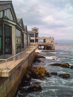 Cannery Row  Monterey  California  Cannot wait to take T here, she so loves watching people it will be great!