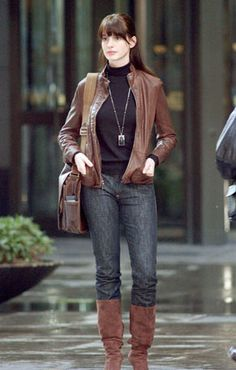 anne hathaway the devil wears prada outfits - Google Search