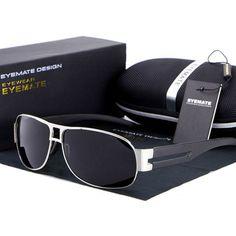 Polarized mens Sunglasses Fashion Sports Driving glasses Mirrored Eyewear Shades #AORON #Drivingfashionsport