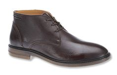 """Refined enough for the office, but equally comfortable out to dinner or around town, these Sebago® men's chukka boots are the answer to, """"What shoes should I wear?"""""""