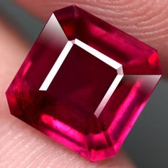 5.11CT.FABULOUS! SCISSOR CUT PINKISH RED NATURAL RUBY MOZAMBIQUE #GEMNATURAL