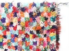 tapis boucherouite moroccan. dar amïna shop