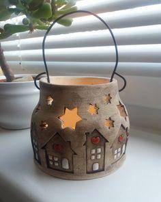 #keramika #ceramica #ceramicsart #homemade #homedecor #lucerna #art