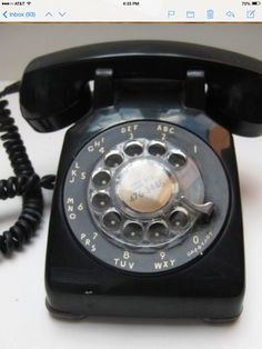 """Do Ya remember """"Party Lines""""? We were ring number 3. Never seen or used another color until I joined the Air Force ✈️ in April 1973."""
