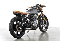 "Yamaha SR 500 ""Bruto"" by Analog Motorcycles"