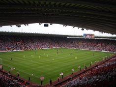 Southampton Football Club. St Mary's Stadium, Southampton, England