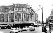This Photo of Kingston Upon Thames, Bentalls Corner is included in the memory curved windows of Bentalls Richmond Surrey, Richmond Upon Thames, Kingston Upon Thames, Wimbledon London, London Today, Vintage London, Historical Images, Local History, West End