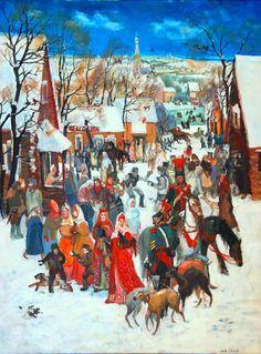 Масленица - история русского праздника