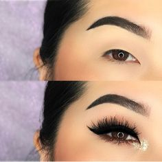 """2,808 curtidas, 42 comentários - BRANDI   TSUJIMOTO (@brandi.x0) no Instagram: """"✌ REALLY simple look. Literally used only 4 items & my fav pair of lashes. [swipe for products]…"""" Love Makeup, Makeup Inspo, Beauty Makeup, Makeup Looks, Hair Makeup, Hair Beauty, Beauty Hacks, Beauty Tips, Makeup Tips"""