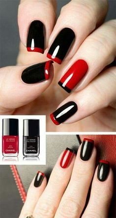 10 Hottest Nails Color Ideas 2018 - The most beautiful nail designs Red Nail Designs, Acrylic Nail Designs, Acrylic Nails, Coffin Nails, Shellac Nails, Hot Nails, Hair And Nails, Hair Gel, Nagel Hacks