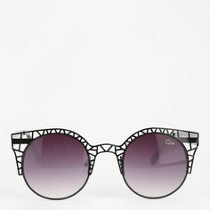 a9ac1c7202e Shop Quay Fleur Round Cat-Eye Sunglasses at Urban Outfitters today.