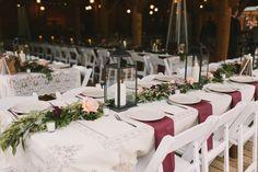 Wedding reception at Piney River Ranch