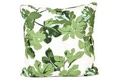 Fig Leaf Pillow on OneKingsLane.com