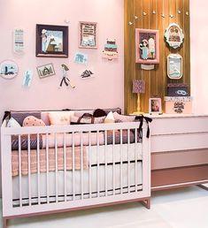 29c0f9af0 Quarto de Bebê Menina  56 Modelos Encantadores e Dicas para Inspirar ...