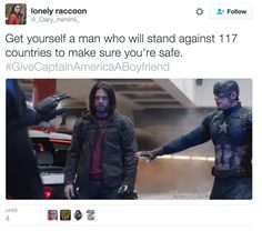 People On Twitter Are Asking Marvel To Give Captain America A Boyfriend - BuzzFeed News