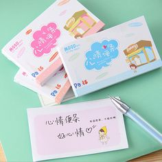 Beauty 50 Sticker Post It Bookmark Point It Marker Memo pad Flags Sticky Note Pages