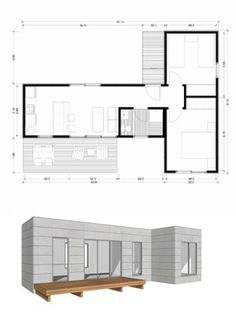 Una casa de cordillera para descansar los dias que decidas retirarte de la ciudad descubre este modelo de 50 m2 diseño B