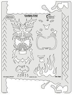 Tiki Master Tribal Tiki Template