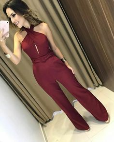 Trendy Outfits, Cute Outfits, Vestido Casual, Jumpsuit Dress, Look Chic, Jumpsuits For Women, Casual Looks, Casual Wear, Ideias Fashion