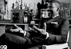 Denzel Washington GQ Cover Shoot October 2012