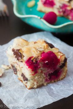 Dark Chocolate Raspberry Coffee Cake | sallysbakingaddiction.com