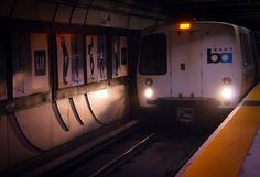 BART Train, San Francisco, California Product Photography, Recreational Vehicles, San Francisco, Editorial, California, Train, Camper, Strollers, Campers