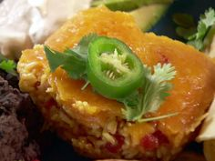 Mexican Rice Casserole Recipe : Ree Drummond : Food Network - FoodNetwork.com. ADD BLACK BEANS