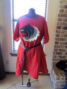 Wolf's head tunic.