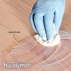 The deep grain lines in woods like oak or walnut will telegraph through the clear finish, no matter how many coats you apply. And that's fine; it's part of the character of coarse-grain woods. But if a perfectly smooth surface is the look you want, use a grain filler. You'll find several products online or at woodworking stores. With most, you wipe on the filler, squeegee off the excess with a plastic putty knife and then sand after it's dry for a smooth-as-glass surface.