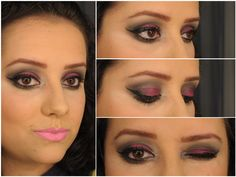 Maquiagem de Sexta – Preto e Pink