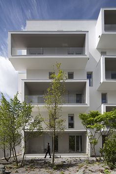 Logements, Agence Babin+Renaud, St Denis
