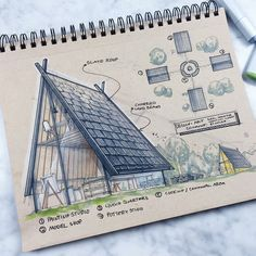 Interesting Find A Career In Architecture Ideas. Admirable Find A Career In Architecture Ideas. Architecture Sketchbook, Landscape Architecture, Interior Architecture, Design Despace, Sketch Design, House Sketch, Interior Sketch, Designs To Draw, Illustration