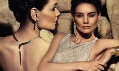 It was where a young Katie Holmes began her career aged just 14. And now the Hollywood star is back behind the lens, starring in an ad campaign for jewellery brand H.Stern.