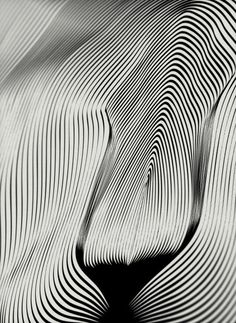 Abstract line art.