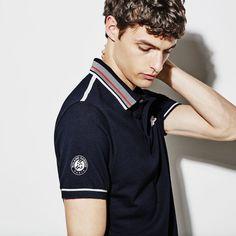 Men's sport French Open Petit Piqué polo shirt