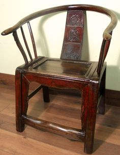 Antiques: High Back Chair/Arm Chair/Children Chair