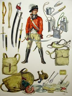 British Army Uniform, British Uniforms, British Soldier, American Revolutionary War, American War, American History, Military Art, Military History, British America