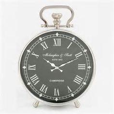Suche Uhr den tisch schwarz cost. Ansichten 984.