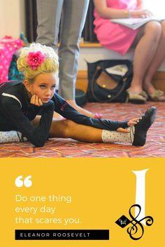 "📜 ""Do one thing  every day  that scares you.""  — Eleanor Roosevelt. 🖋  📸 Photo Cred: Getty Images #Quotes 😃 #InishfreeMexico™ 🇲🇽 Tania Martínez 🍀 The #Art of #IrishDance! 👯 #IrishDancer 👉 #InishfreeTeam 💚 #Inishfree School of #IrishDancing 🌟 #Academia de #DanzaIrlandesa 🍀 #InishfreePedregal 🇲🇽 #InishfreeToluca 👉 #TeamInishfree #SoftShoes #Dance #Danza #Feis #Winishfree #TaniaMartinez"