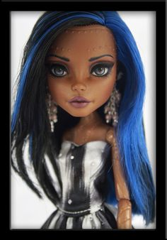 Monster high repaint | google searched
