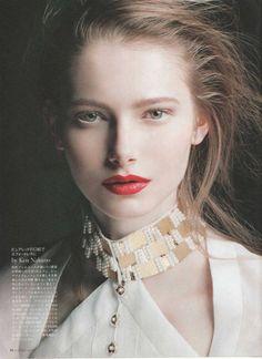 Kinga Korda for Dazzle Magazine Japan