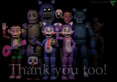 Five Nights at Candy's Thanks You To (FNAC2? WTF!) by TheSitciXD on DeviantArt