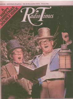 Past-Christmas essentials: 'The Two Ronnies' RIP: Ronald Balfour 'Ronnie' Corbett, CBE (1930-2016), and Ronald William George 'Ronnie' Barker, OBE (1929-2005)