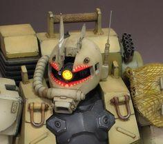 MG MS-05L Zaku I Sniper Type: Amazing Custom Work by DAITEN.