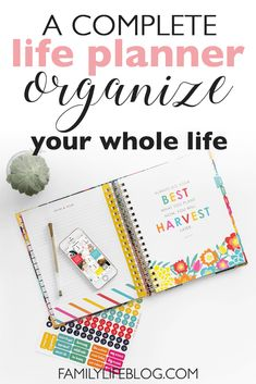 Do you need a planner to organize your whole life? Well, The Living Well Planner is not just an ordinary daily planner, it's a LIFE planner. You can plan and organize your whole life with it, and even get FREE training on how to use it effectively! Planners For Men, Best Planners, Daily Planners, Planning And Organizing, Planner Organization, Organized Planner, Household Organization, Organizing Ideas, Classroom Organization