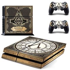 Playstation 4 Skin Sticker Assassins Creed Syndicate